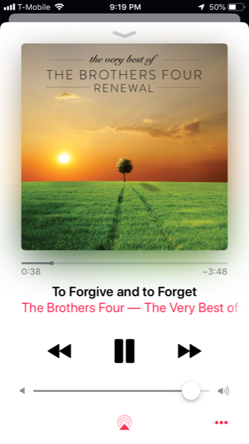 To forgive and to forget